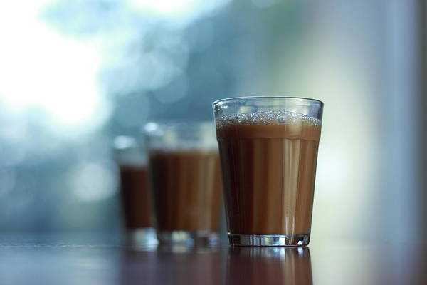 Bangalore Photograph - Glass Of Chai by All Images Belong To Cynthia Sapna.