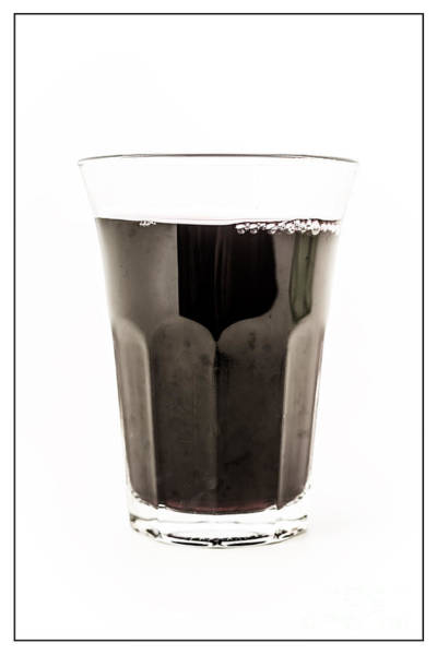 Wall Art - Photograph - Glass Of Wine by Edward Fielding