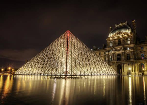 Photograph - Glass Pyramid by Ryan Wyckoff