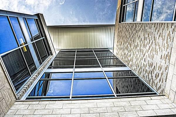University Of West Florida Photograph - Glass Reflections by Jon Cody