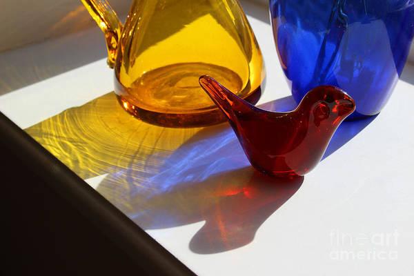 Photograph - Glass Reflections by Karen Adams