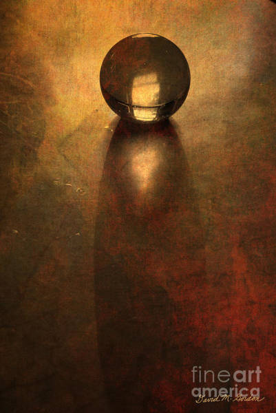 Photograph - Glass Sphere - Color by David Gordon
