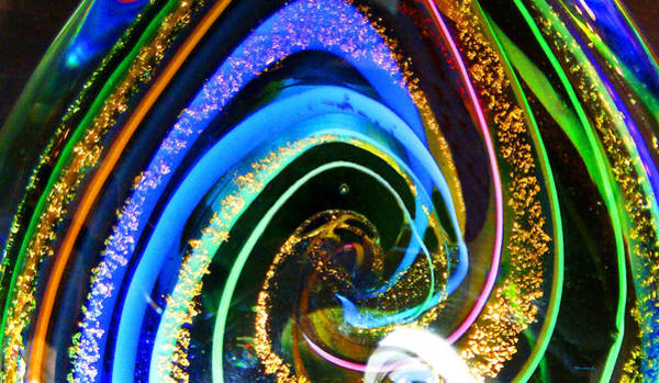 Photograph - Glass Swirl Abstract 1 by Duane McCullough