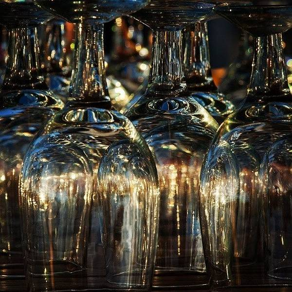 Still Life Wall Art - Photograph - Glasses by Hitendra SINKAR