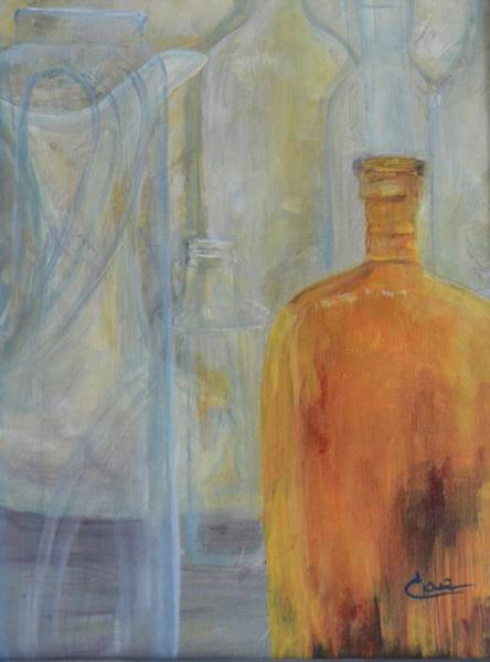 Painting - Glassware I by Cae Wuerth