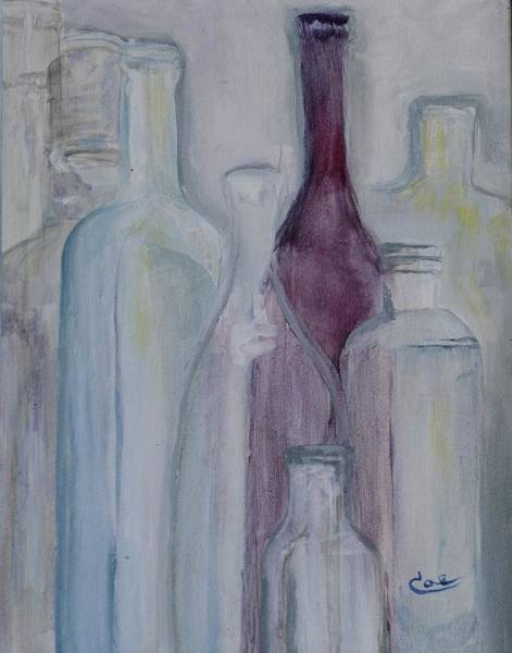 Painting - Glassware II by Cae Wuerth