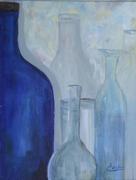 Painting - Glassware Iv by Cae Wuerth