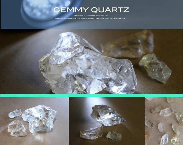 Digital Art - Glassy Quartz by Jhiatt