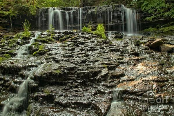 Photograph - Glassy Rocks At Mohawk by Adam Jewell