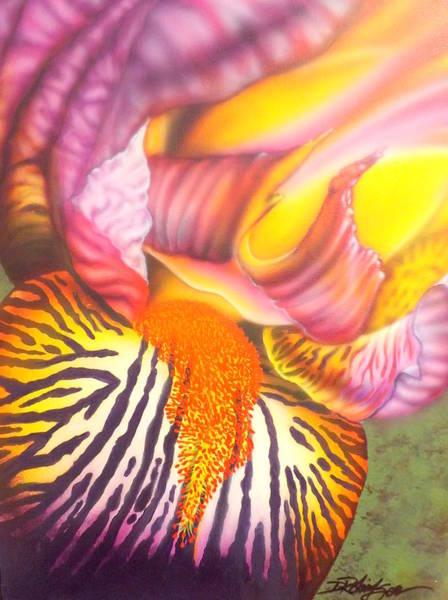 Painting - Glavis Iris by Darren Robinson