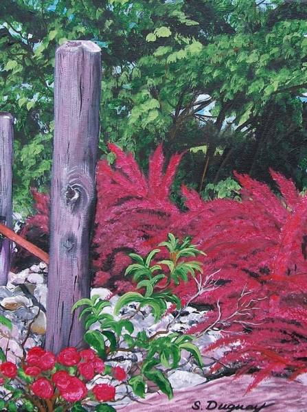 Painting - Glen Cairn Entrance by Sharon Duguay