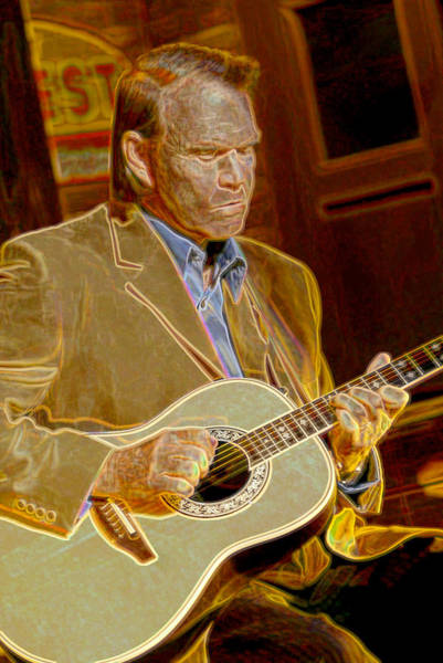 Wall Art - Photograph - Glen Campbell by Don Olea