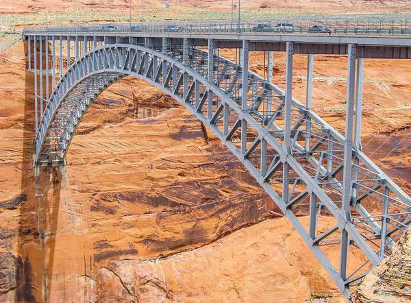 Glen Canyon Dam Bridge Art Print
