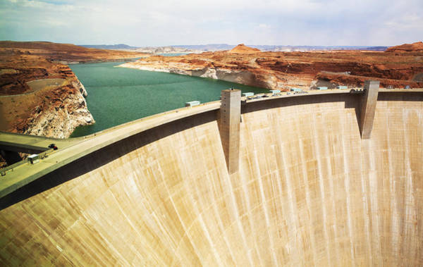 Photograph - Glen Canyon Dam by Marilyn Hunt