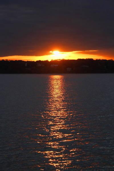 Photograph - Glen Cove Sunset by Bob Slitzan