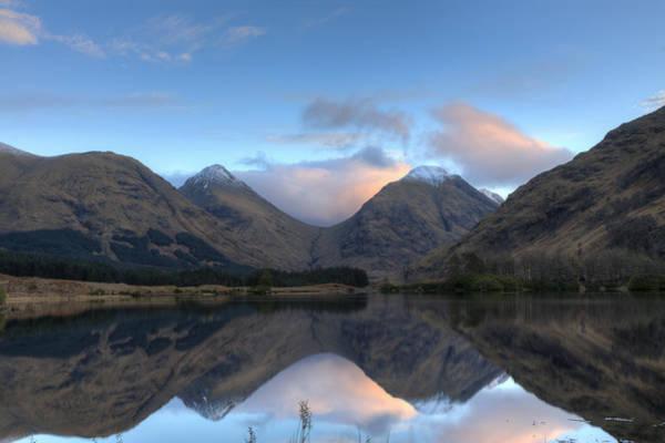 Bidean Nam Bian Photograph - Glen Etive Scotland by Tommy Dickson