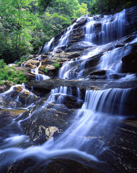 Photograph - Glen Falls by Ray Mathis