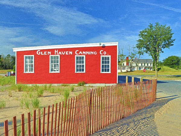 Digital Art - Glen Haven Canning Co. by Digital Photographic Arts