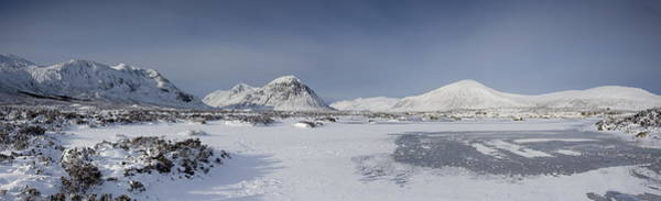 Frost Digital Art - Glencoe And Buchaille Etive Panoramic by Pat Speirs
