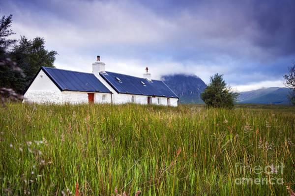 Photograph - Glencoe Cottage by David Lichtneker