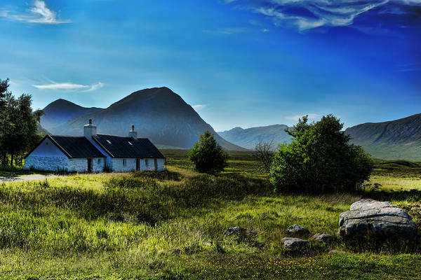 Gaelic Photograph - Glencoe  Scotland by Alex Hardie