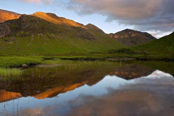 Glencoe Summer Reflections Art Print