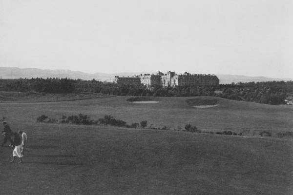 Unknown Photograph - Gleneagles Golf Links by Artist Unknown