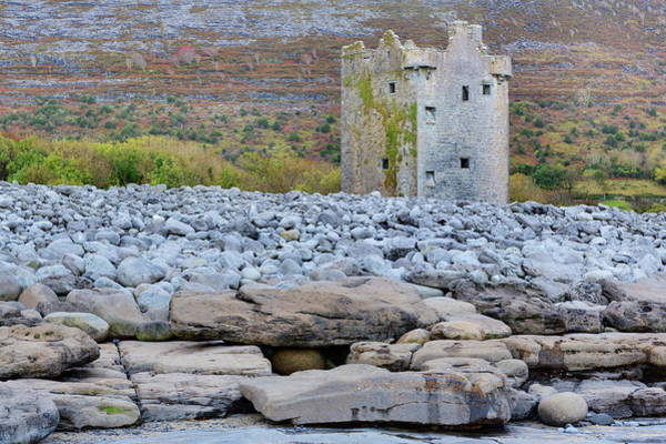 The Burren Photograph - Gleninagh Castle In The Burren, County by Richard Cummins / Robertharding