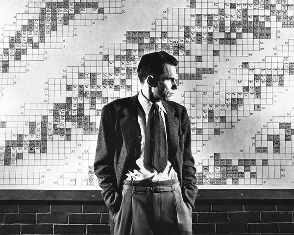 Wall Art - Photograph - Glenn Seaborg by Emilio Segre Visual Archives/american Institute Of Physics/science Photo Library