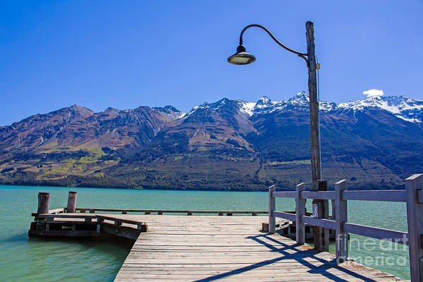 Photograph - Glenorchy Pier by Nicholas Blackwell