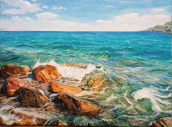 Painting - Glifada 2 by Sefedin Stafa
