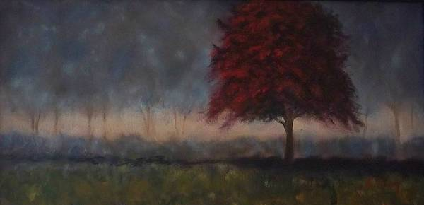 Stephen King Painting - Glimmer by Stephen King