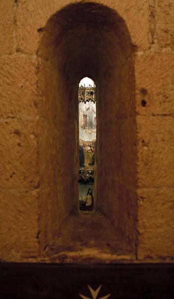 Photograph - Glimpse Of An Altar by Lorraine Devon Wilke