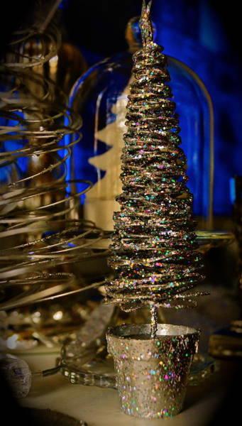 Glitter Tree - Christmas  Art Print