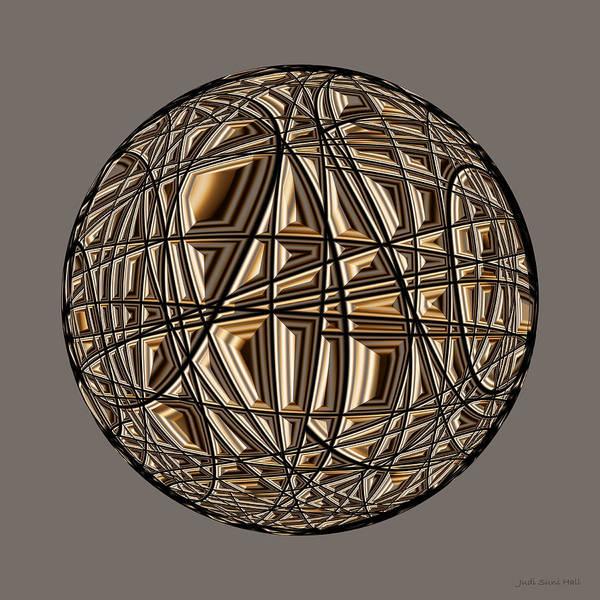 Digital Art - Global Routing by Judi Suni Hall