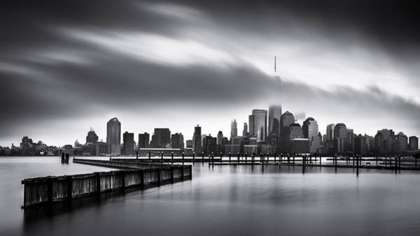 Photograph - Gloomy Day For The Financial District by Mihai Andritoiu