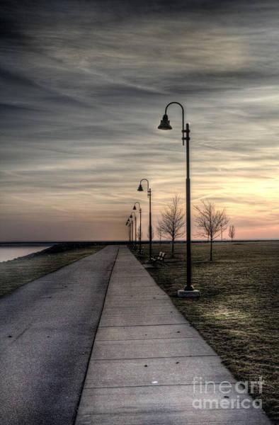 Photograph - Gloomy Walkway by Jim Lepard