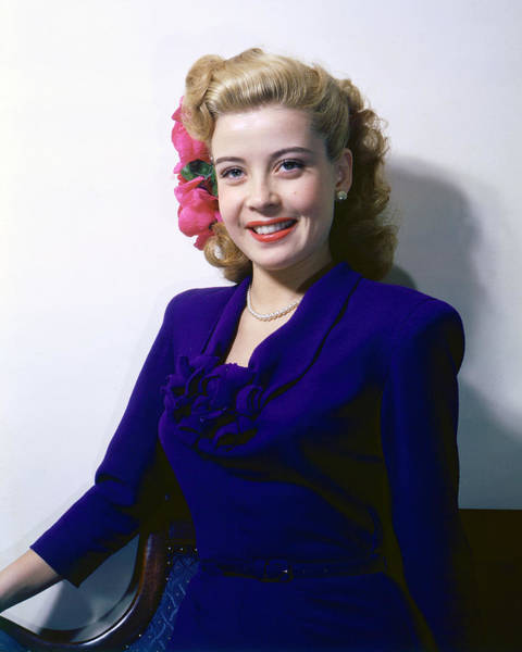Gloria Photograph - Gloria Dehaven by Silver Screen