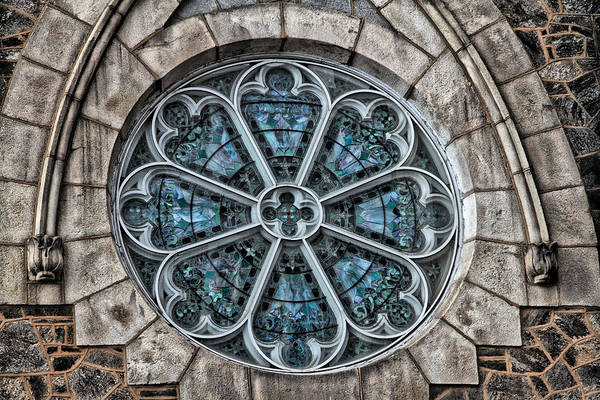 Photograph - Glorious Church Stained Glass by Alice Gipson