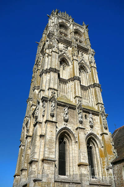 Edifice Photograph - Glorious Gothic by Olivier Le Queinec