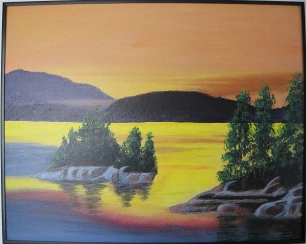 Painting - Glorious Sunrise by Lorraine Bradford