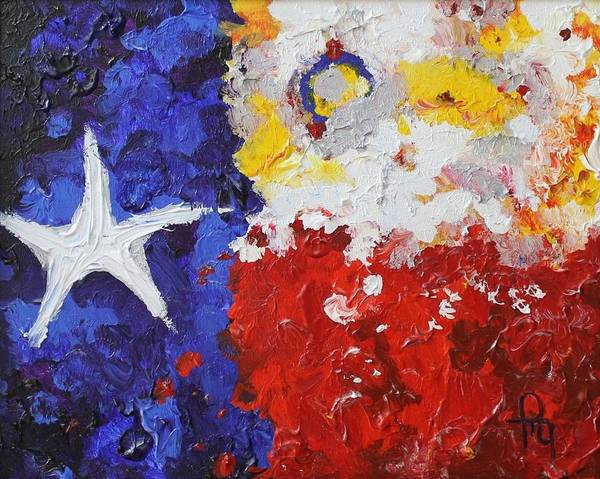 Lone Star Painting - Glory Of The Lone Star by Michael Greeley