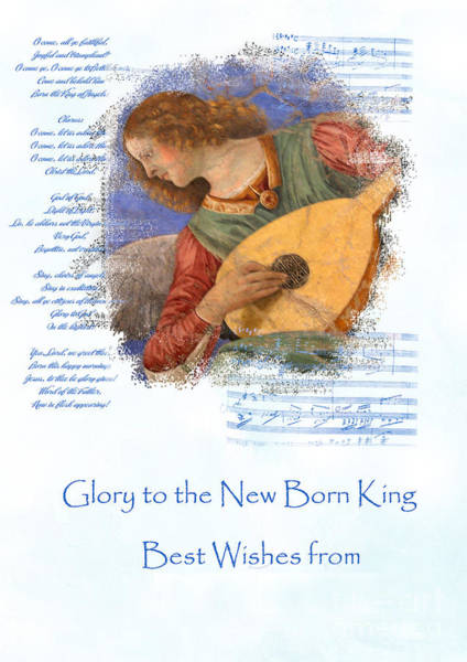 Photograph - Glory To The New Born King by Brenda Kean