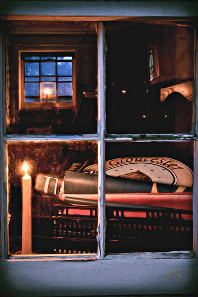 Photograph - Gloucester By Candlelight by Williams-Cairns Photography LLC