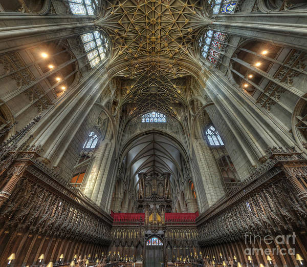Photograph - Gloucester Cathedral 2.0 by Yhun Suarez