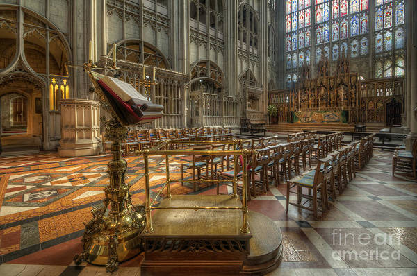 Photograph - Gloucester Cathedral 4.0 by Yhun Suarez