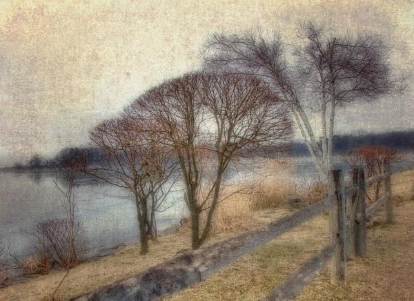 Photograph - Gloucester Winter Morning - Vintage by Joann Vitali