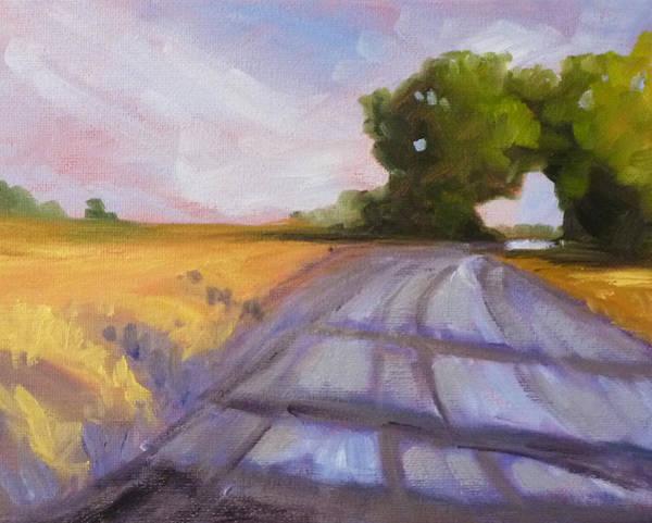 Prairie Painting - Glow by Nancy Merkle