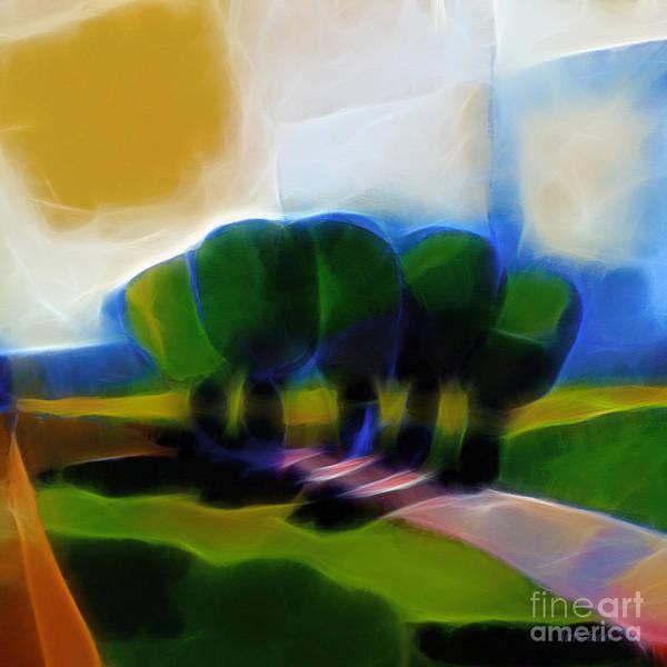 Summer Day Digital Art - Glowing Day by Lutz Baar