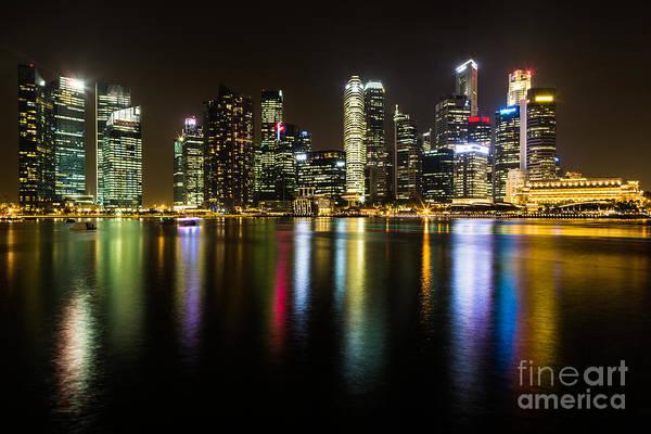 Photograph - Glowing Singapore by AsianDreamPhoto